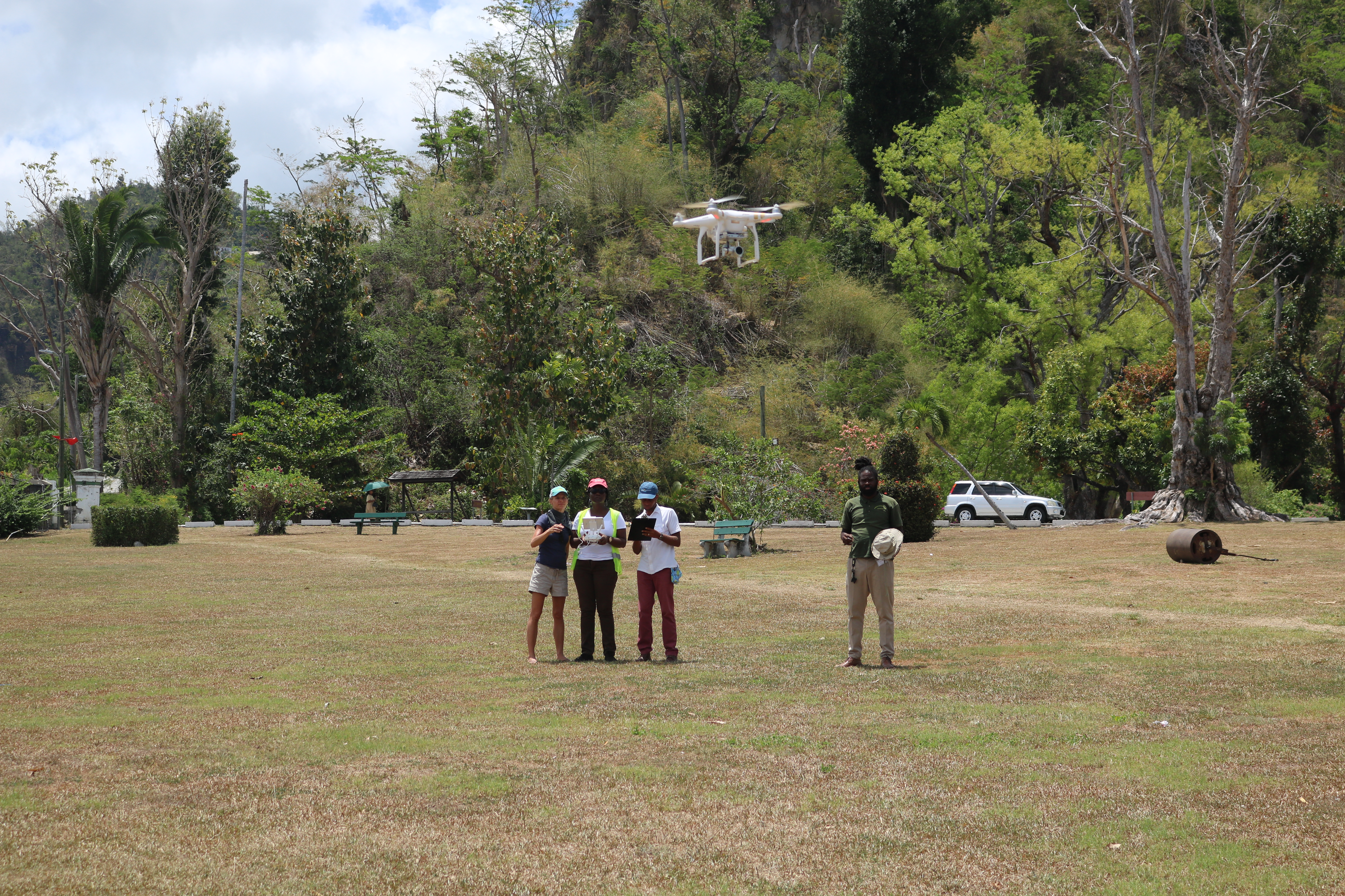 Training on Unmanned Aerial Systems in Dominica